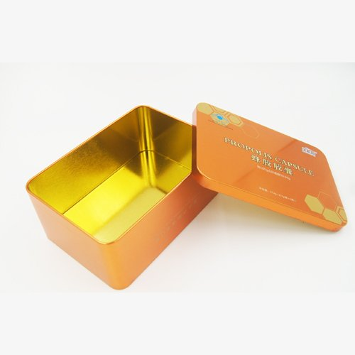 DSC05700 - Small Rectangular Metal Chocolate Tin Box for Packaging