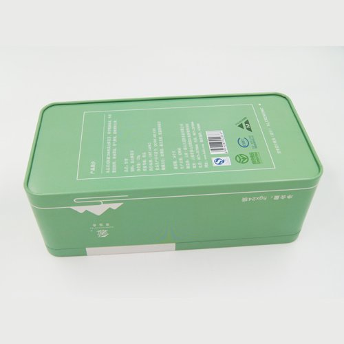 DSC05704 - Rectangular Metal Tin Storage Containers for Tea and Coffee Packaging