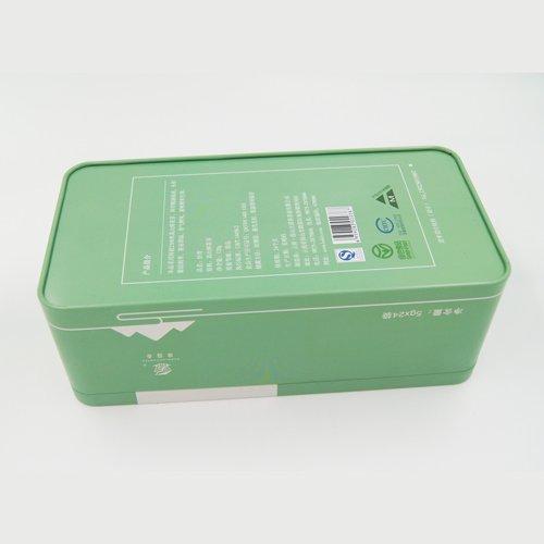 I-DSC05704 - Iziqukathi Zokulondolozwa Kwensimbi engu-Rectangular Metal Tin for Tea and Packaging