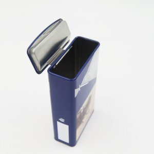 DSC05706 300x300 - Rectangular Metal Container for Cigarette or Candy Packaging