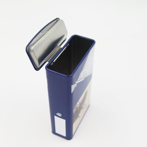 DSC05706 - Rectangular Metal Container for Cigarette or Candy Packaging