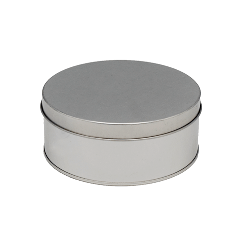 TW6101 001 - Custom Round Metal Containers For Gifts and Coffee Packaging