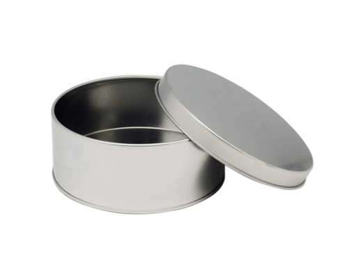 Custom Round Metal Containers For Gifts and Coffee Packaging