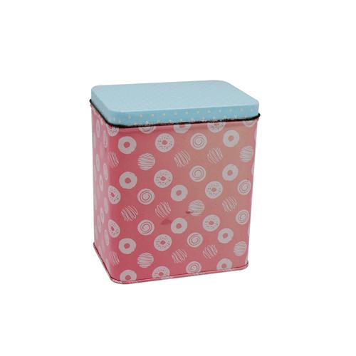 TW7104 001 - Custom Rectangular Tea Tin Box For Tea And Coffee Packaging