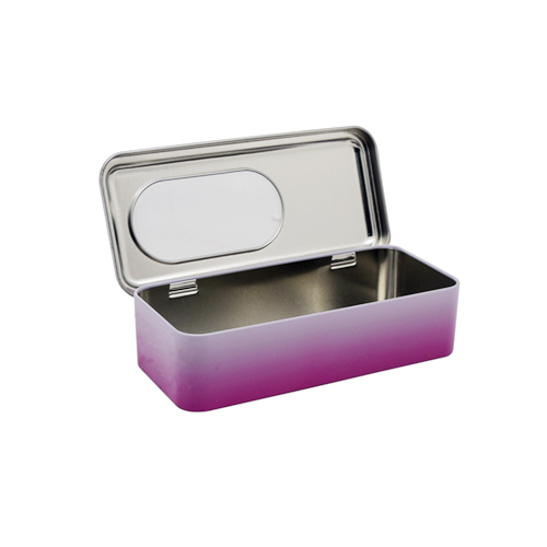 TW7105 002 - Rectangular Metal Tin Containers For Gifts Packaging Ideas