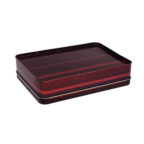 TW7108 002 - Rectangular Storage Tins With Lids For Cosmetic Packaging