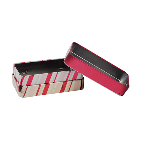 TW7109 003 - Rectangular Tin Box