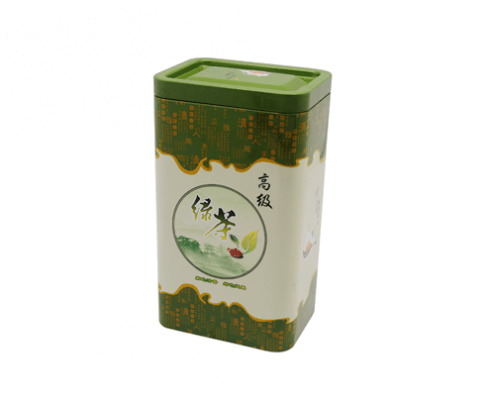 TW771 001 495x400 - Custom Rectangular Tea Tin Container For Tea Coffee Packaging