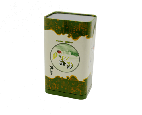 TW771 002 495x400 - Custom Rectangular Tea Tin Container For Tea Coffee Packaging