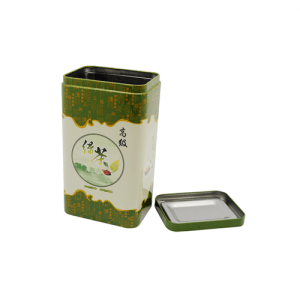TW771 003 300x300 - Custom Rectangular Tea Tin Container For Tea Coffee Packaging