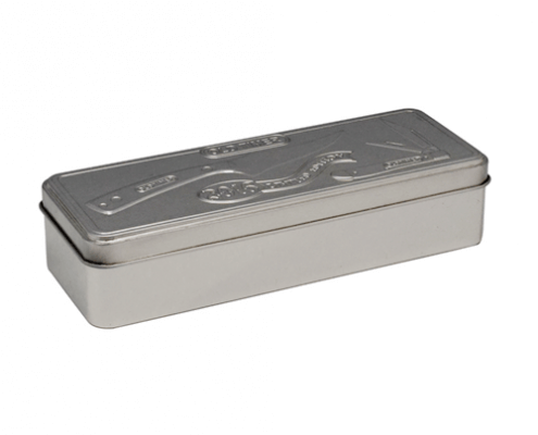 Custom Rectangular Tin Box With Lid For Gifts Packaging