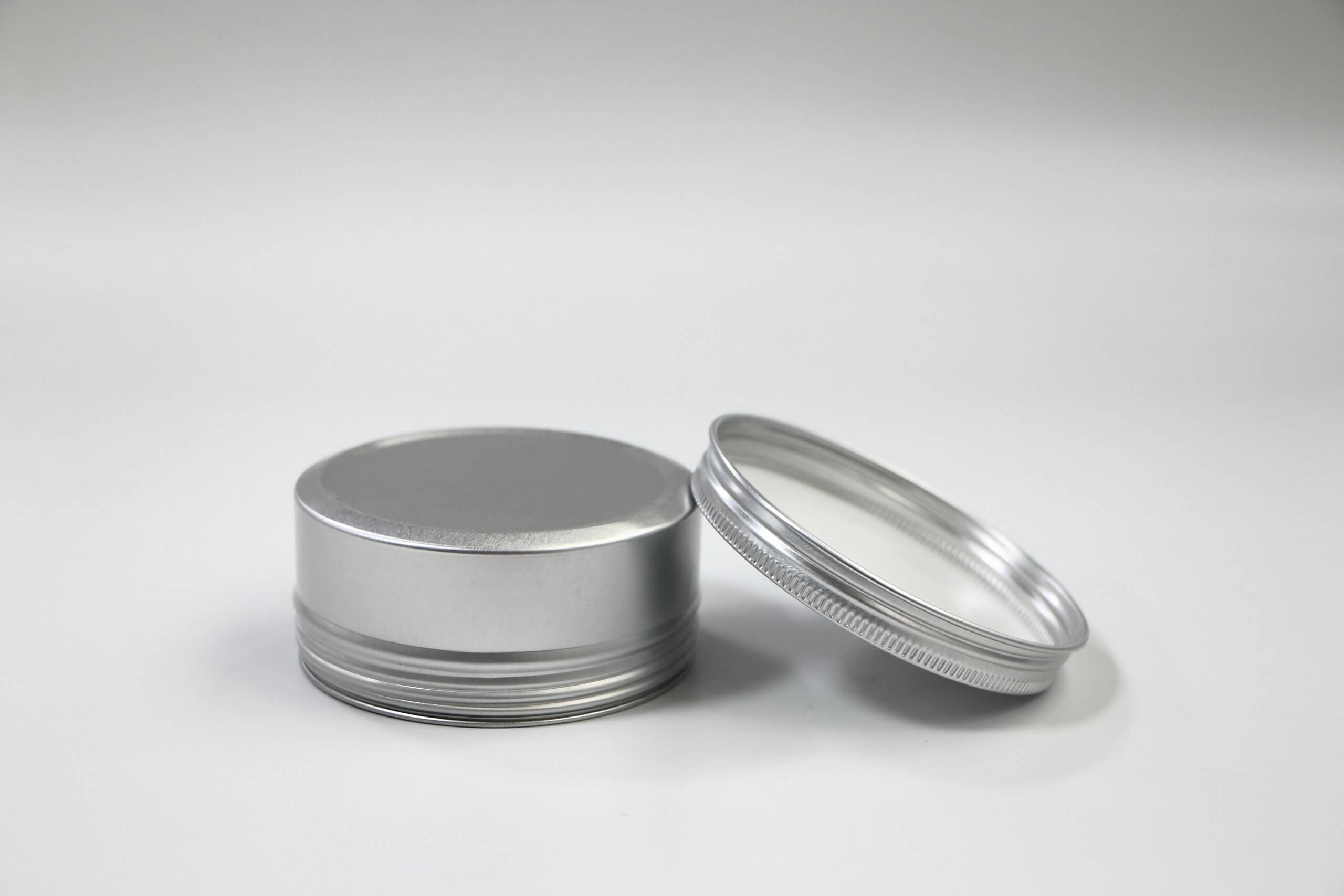 YX AL243 scaled - Aluminum Tin Jars Round Pot Screw Cap Lid for Lip Balm Nail Art Cream Cosmetic Make Up Eye Shadow Powder Pot Jar Tin Case Container