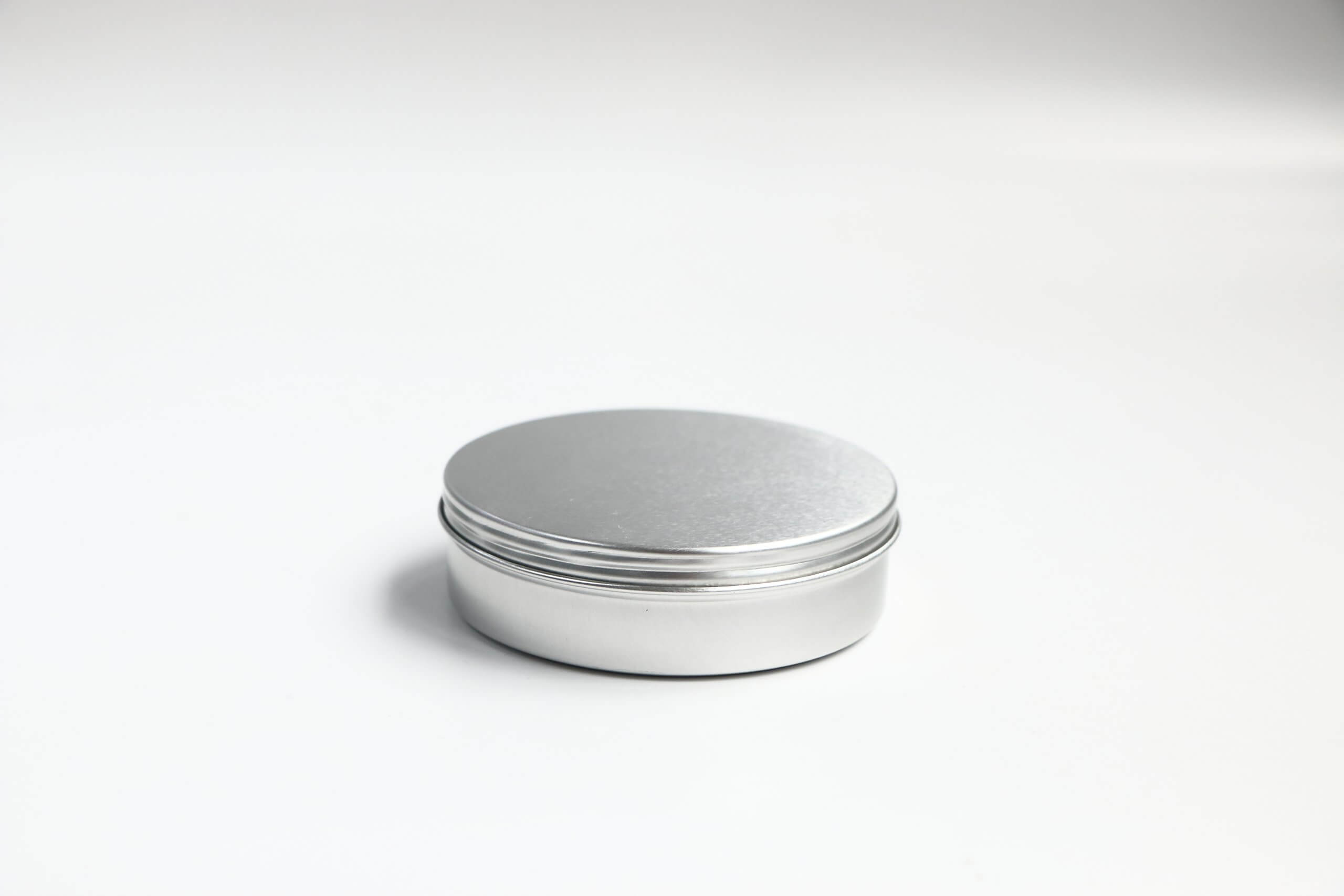 YX AL285 scaled - Aluminum Tin Jars Round Pot Screw Cap Lid for Lip Balm Nail Art Cream Cosmetic Make Up Eye Shadow Powder Pot Jar Tin Case Container