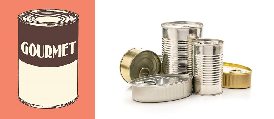 Three piece metal food cans - How to Choose Suitable Food Tin Containers for Food Packaging?