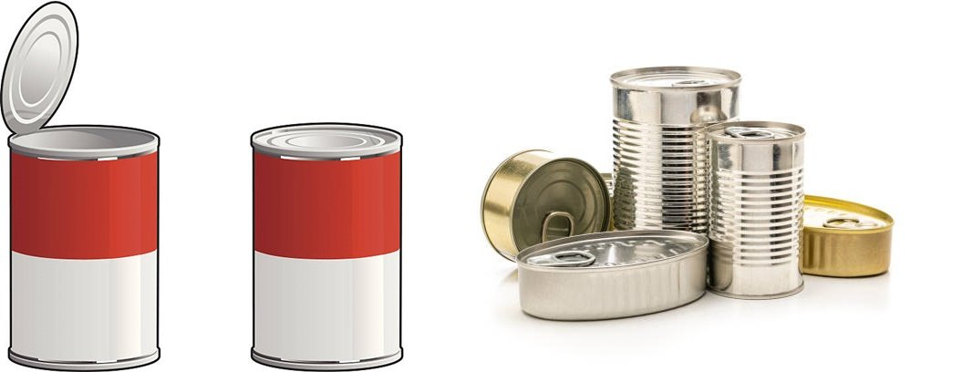 Two piece steel food tin containers - How to Choose Suitable Food Tin Containers for Food Packaging?