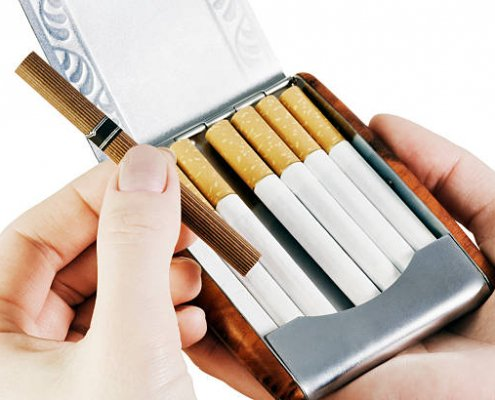 Why Did People Use Cigarette Tin Cases 495x400 - All You Need to Know About Tin Can Packaging