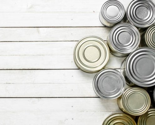 tin cans with food picture id902876594 495x400 - All You Need to Know About Tin Can Packaging